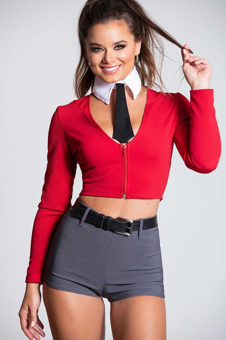 Sexy Mister Rogers Halloween Costume