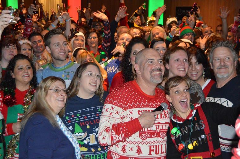 Bubba Show Naughty & Nice Ugly Sweater Party