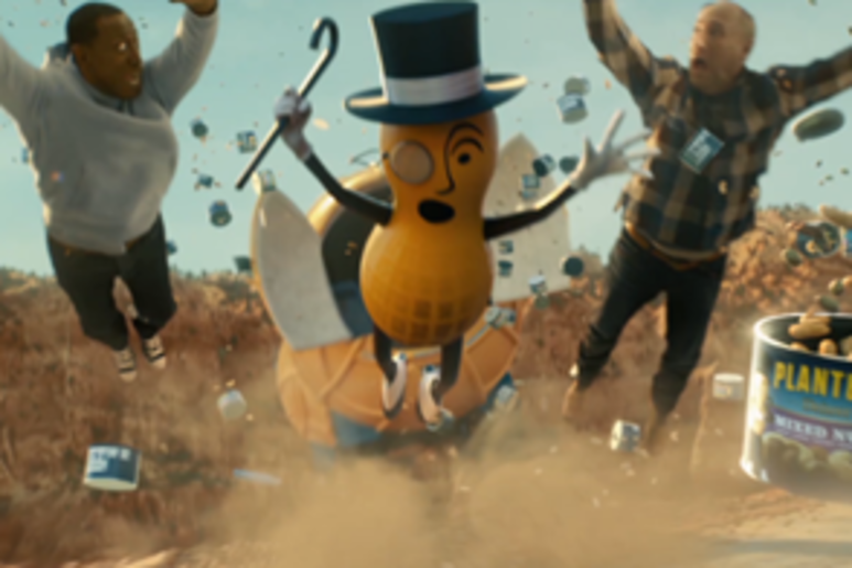 Mr. Peanut with Wesley Snipes and Matt Walsh