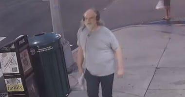 Anti-Muslim Graffiti Suspect