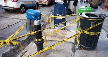 Manhattan Sidewalk Pit