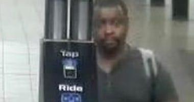 Suspect in subway groping