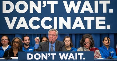 Mayor Bill de Blasio Public Health Crisis