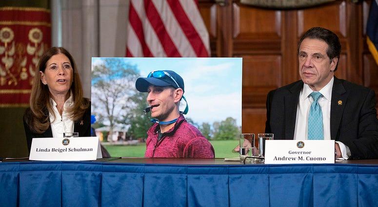 Governor Andrew M. Cuomo and Linda Beigel Schulman