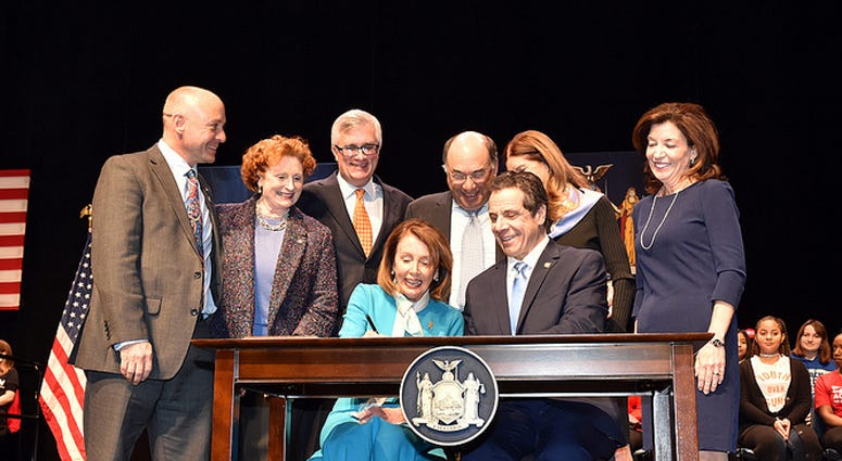 Pelosi, Cuomo Red Flag Bill Signing
