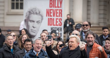 Billy Idol, Mayor de Blasio