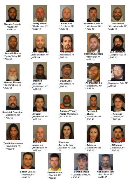 Orange Rockland drug bust