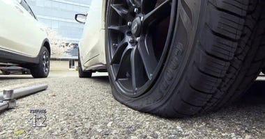 Nurses tires slashed