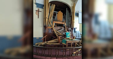 First United Methodist Church of Freehold Organ Pipes