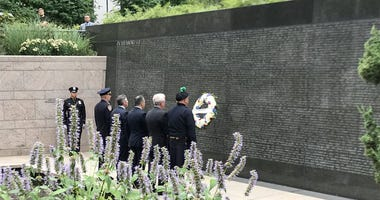 Officers Remember Those Lost On 9/11