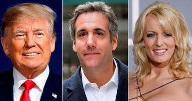 Donald Trump, Michael Cohen, Stormy Daniels
