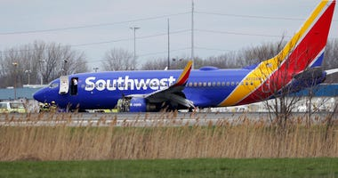 Southwest Airlines Emergency Landing