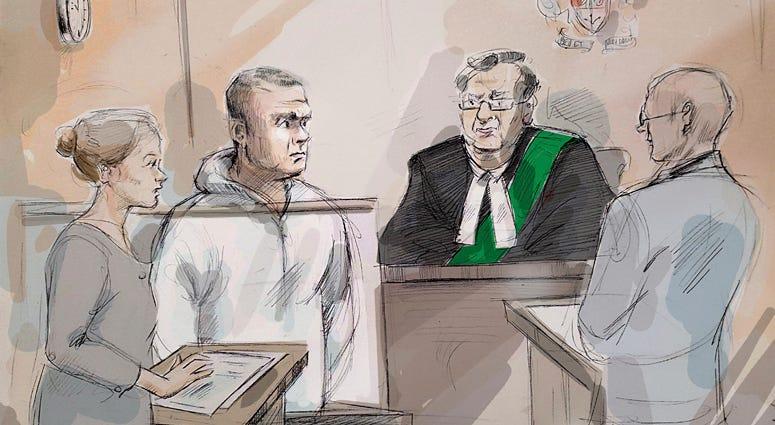 Alek Minassian court sketch