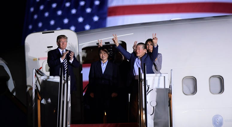 Americans Freed By North Korea