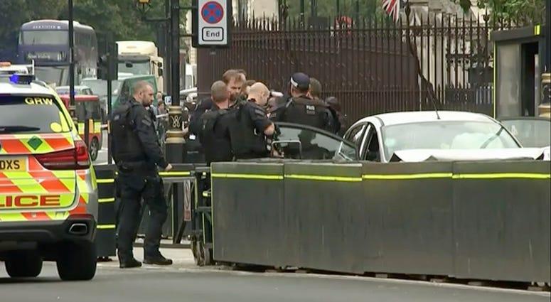 London crash