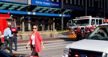 downtown Cincinnati shooting