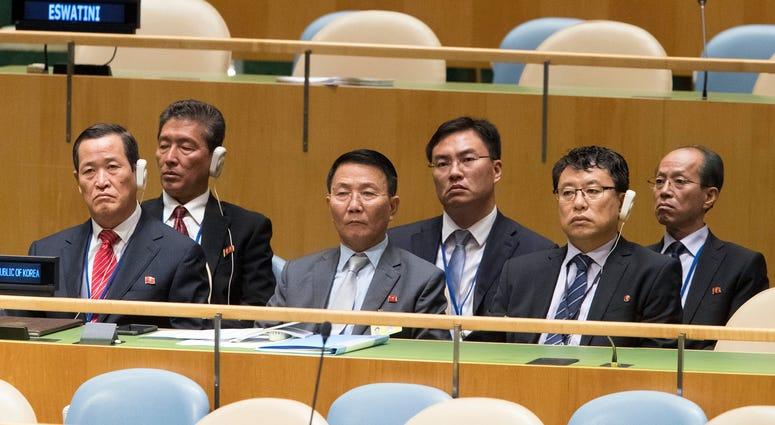 North Korean delegation