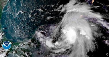 Tropical storm Michael