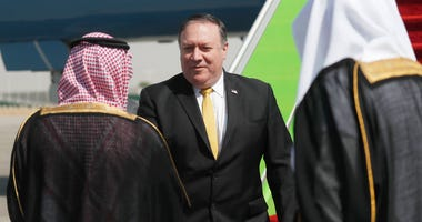 Mike Pompeo in Saudi Arabia