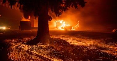 Northern California wildfire
