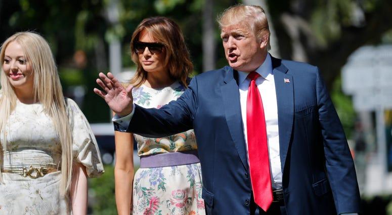 President Donald Trump Easter