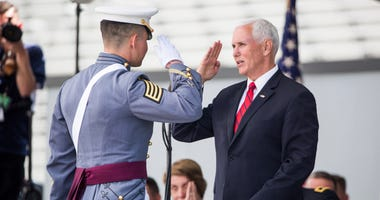 Mike Pence West Point
