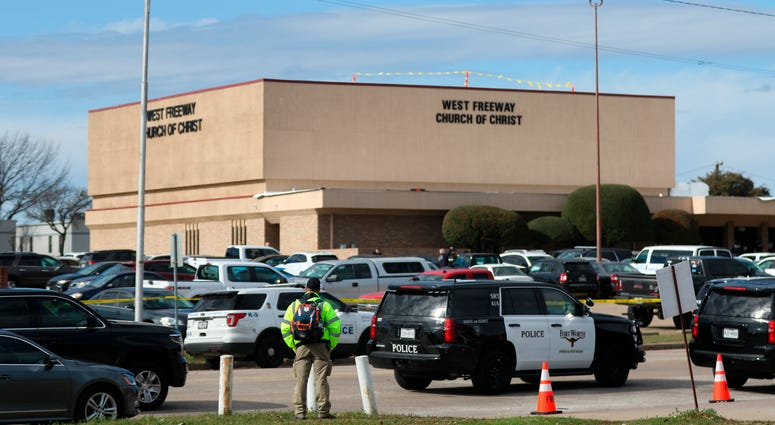 Texas church shooting