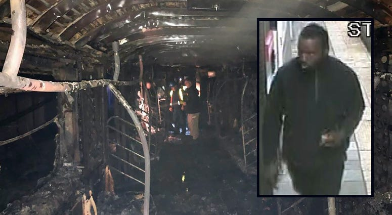 Harlem subway fire