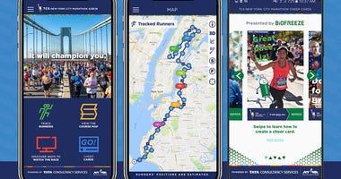 TCS New York City Marathon App