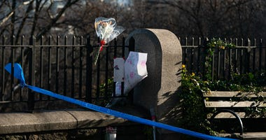 Vigil for Barnard Student