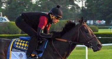 Belmont Stakes Workout