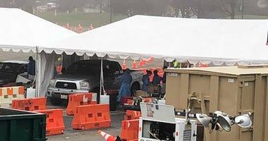 Bergen County testing site