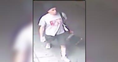 Brooklyn Anti-Chinese Graffiti Suspect