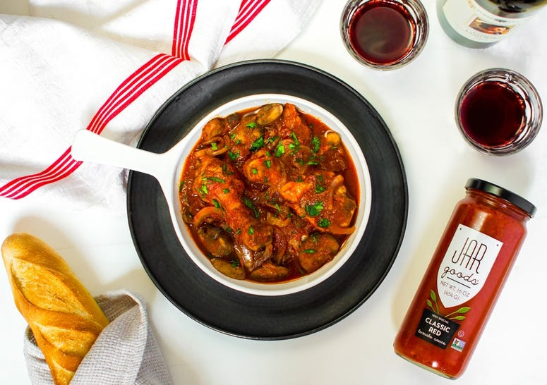 Jar Goods: Chicken Cacciatore