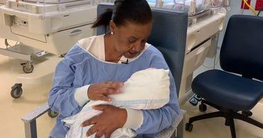 Ilene Adams, hospital cuddler