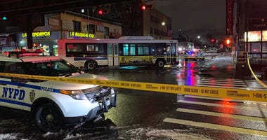Bus Hits Man In Queens