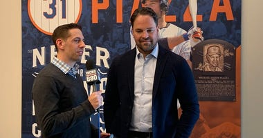 Brad Heller and Mike Piazza