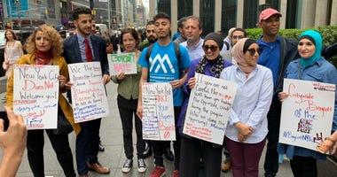 New York Post protest