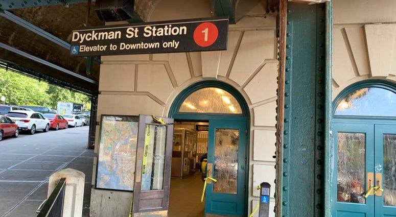 1 Train Dyckman Street