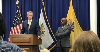 New York Mayor Bill De Blaso, Newark Mayor Ras Baraka