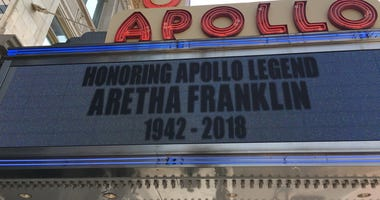 Aretha Franklin remembered at Harlem's Apollo Theater