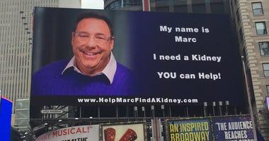 Kidney Billboard Times Square