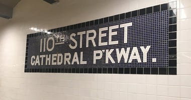 West 110th and Cathedral Street station