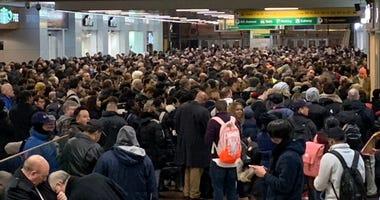 Port Authority Bus Terminal Overcrowding