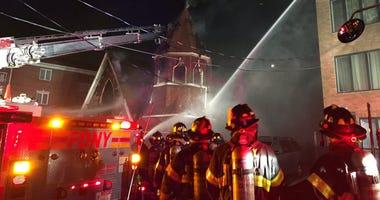 Brooklyn Church Fire