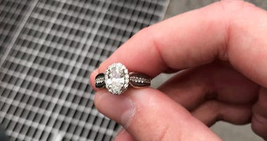 NYPD engagement ring