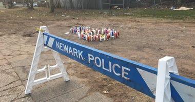 Newark shooting vigil