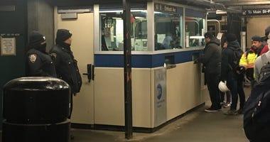 7 train shooting