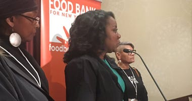 Food Bank President and CEO Margarette Purvis