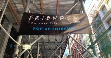 Friends pop up